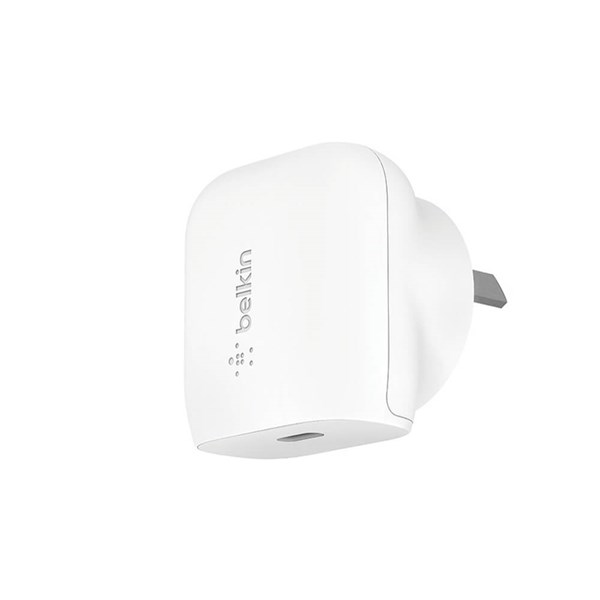 Belkin BoostUp 20W USB-C PD Wall Charger + USB-C to Lightning Cable