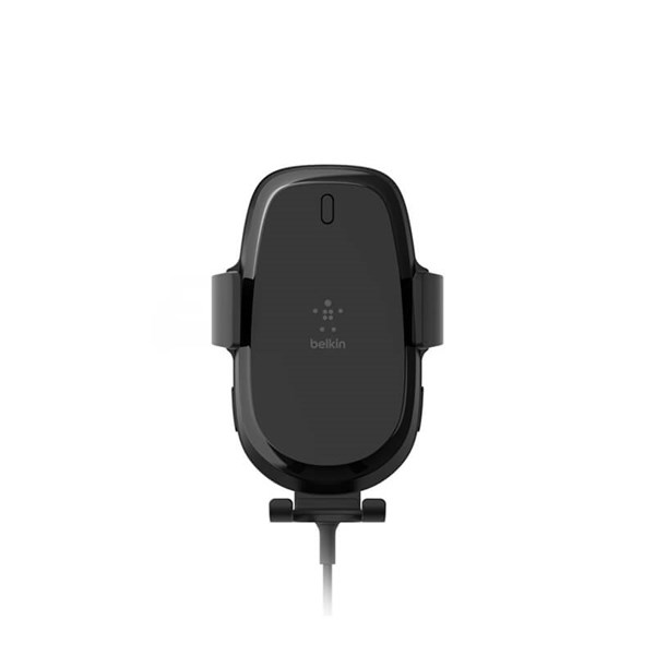 Belkin 10W Fast Wireless Charging Car Charger, Dual USB-A Ports - Black