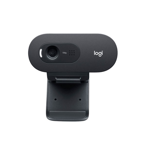 Logitech C505 HD Webcam with Long-Range Mic