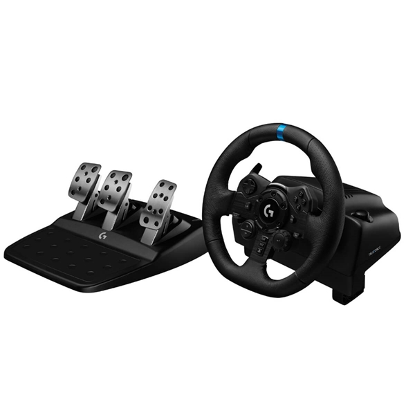 Logitech G923 TRUEFORCE Sim Racing Wheel for PS4 and PC  5