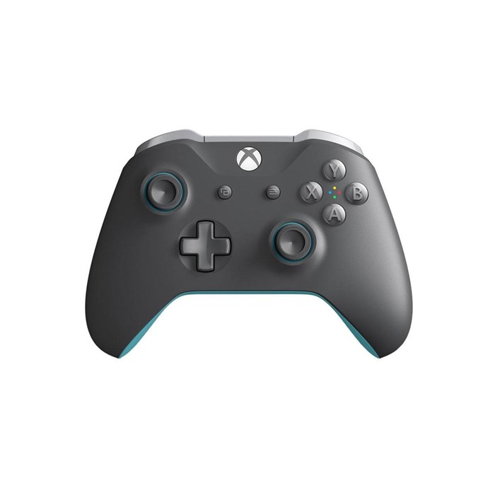 Microsoft Xbox One Wireless Controller - Grey/Blue