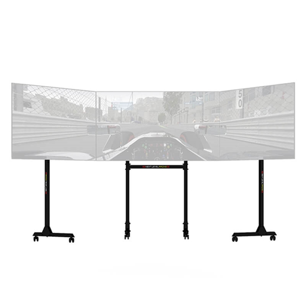 Next Level Racing NLR-A010 Free Standing Triple Monitor Stand (RANLR0785899)  3