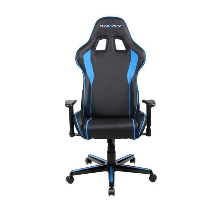 DXRacer  Formula Series PU Leather Gaming Chair - Blue/Black
