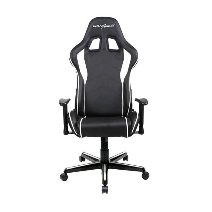 DXRacer  Formula Series PU Leather Gaming Chair -  White/Black