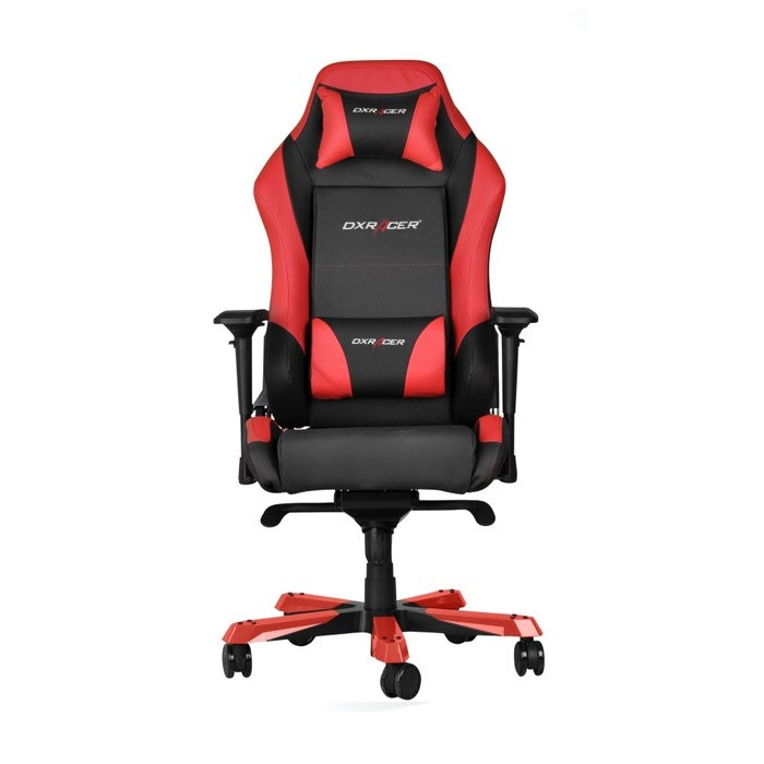 DXRacer  Iron Series PVC Gaming Chair - Black/Red