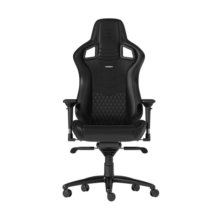 Noblechairs  EPIC Series Real Leather Gaming Chair - Black/Black