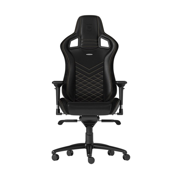 Noblechairs  EPIC Series Faux Leather Gaming Chair - Black/Gold