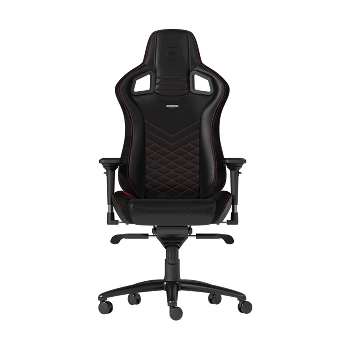 Noblechairs EPIC Series Faux Leather Gaming Chair - Black/Red
