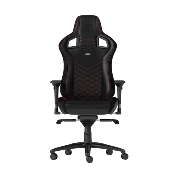 Noblechairs EPIC Series Faux Leather Gaming Chair - Black/Red  1