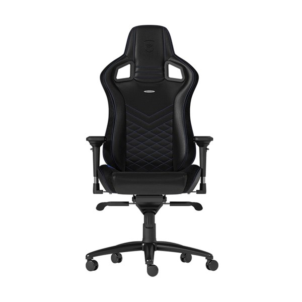 Noblechairs EPIC Series Faux Leather Gaming Chair - Black/Blue