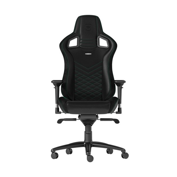 Noblechairs EPIC Series Faux Leather Gaming Chair - Black/Green