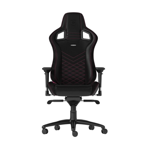 Noblechairs EPIC Series Faux Leather Gaming Chair - Black/Pink
