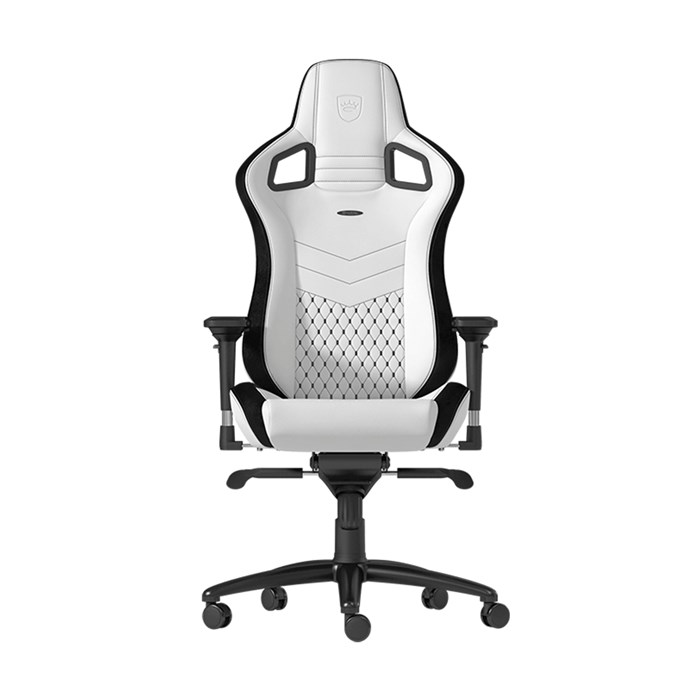 Noblechairs EPIC Series Faux Leather Gaming Chair - White