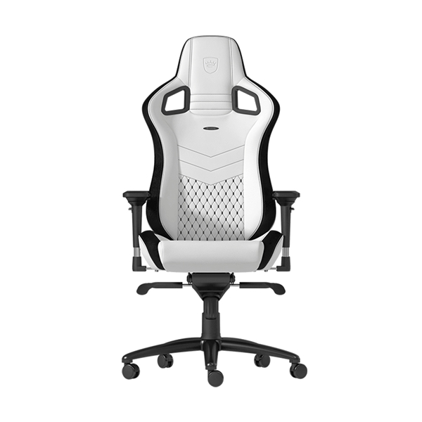 Noblechairs EPIC Series Faux Leather Gaming Chair - White  1