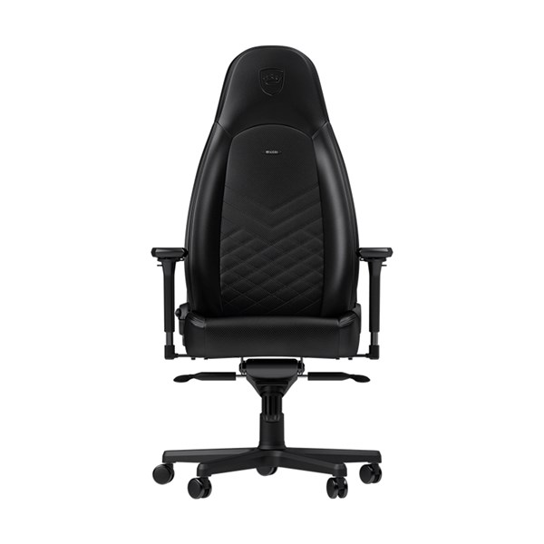 Noblechairs ICON Series Faux Leather Gaming Chair - Black/Black