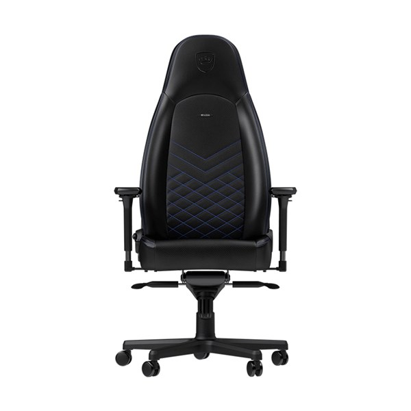 Noblechairs ICON Series Faux Leather Gaming Chair - Black/Blue - pr_267086