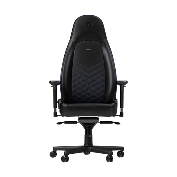 Noblechairs ICON Series Faux Leather Gaming Chair - Black/Blue  1