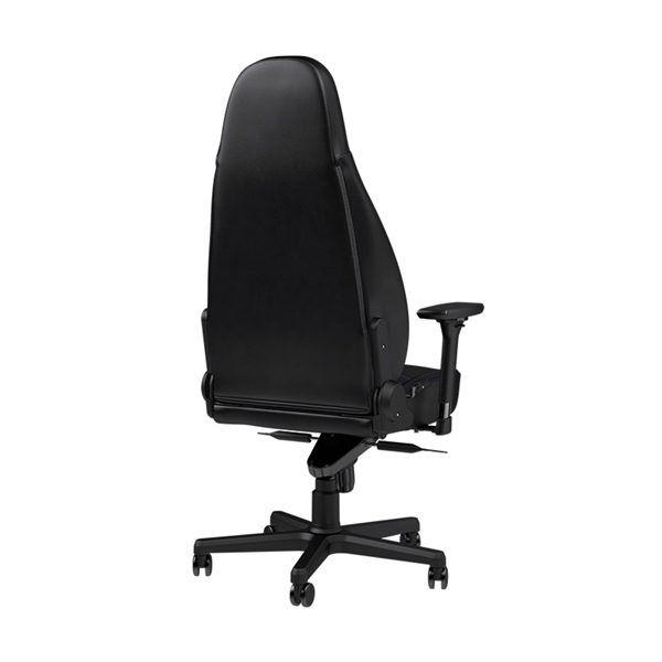Noblechairs ICON Series Faux Leather Gaming Chair - Black/Blue  3