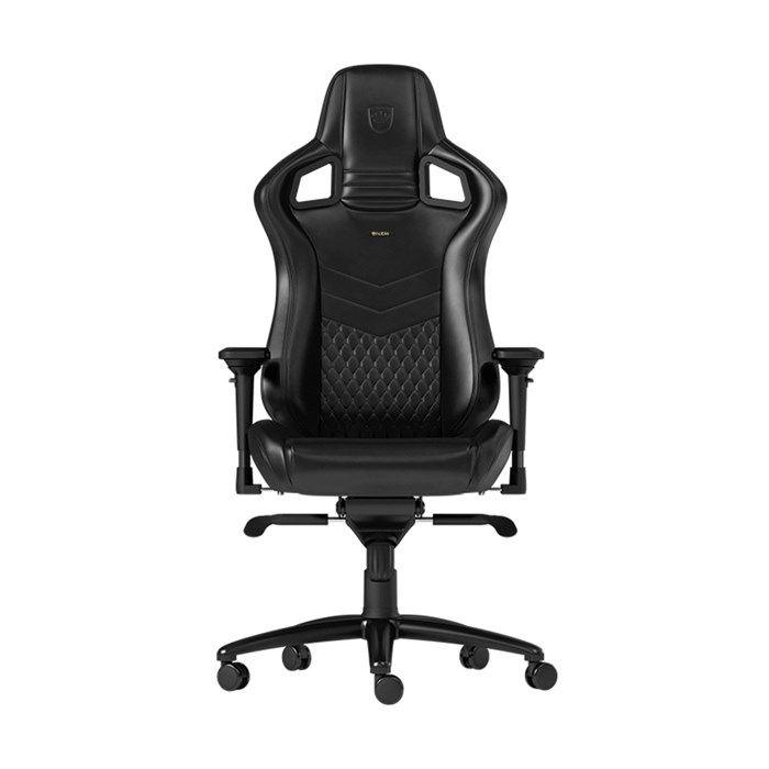 Noblechairs EPIC Series Nappa Leather Gaming Chair - Black