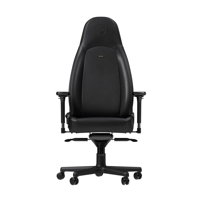 Noblechairs ICON Series Nappa Leather Gaming Chair - Black