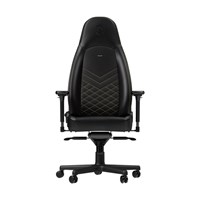 Noblechairs ICON Series Faux Leather Gaming Chair - Black/Gold - pr_267079
