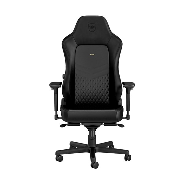 Noblechairs HERO Series Real Leather Gaming Chair - Black