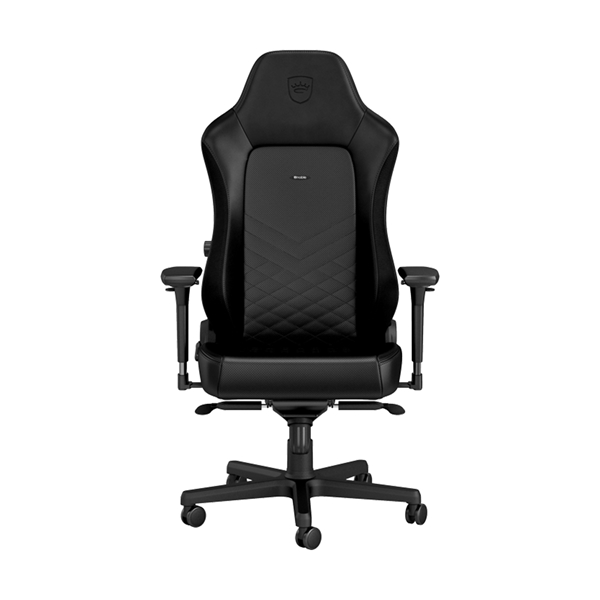Noblechairs HERO Series Faux Leather Gaming Chair - Black  1
