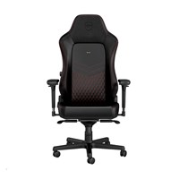 Noblechairs HERO Series Faux Leather Gaming Chair - Black/Red - pr_267081