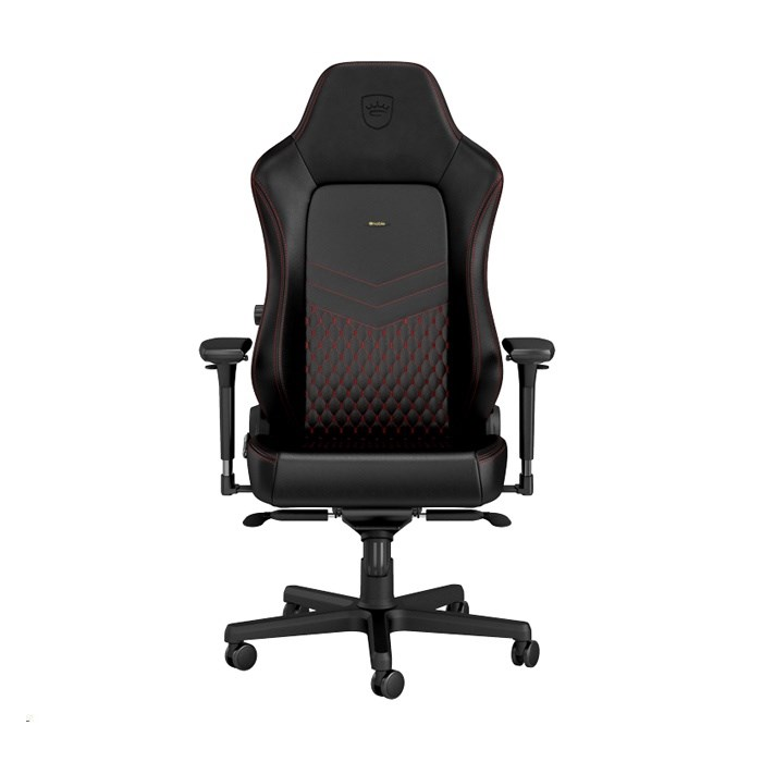 Noblechairs HERO Series Faux Leather Gaming Chair - Black/Red