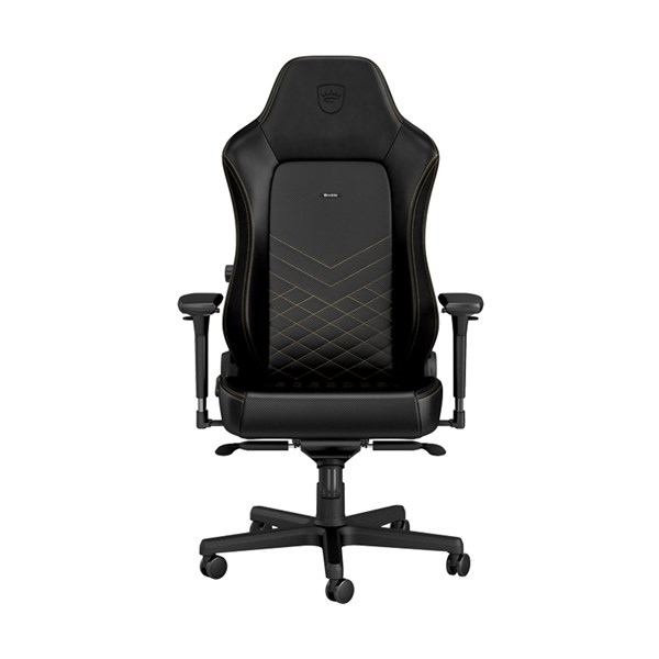 Noblechairs HERO Series Faux Leather Gaming Chair - Black/Gold