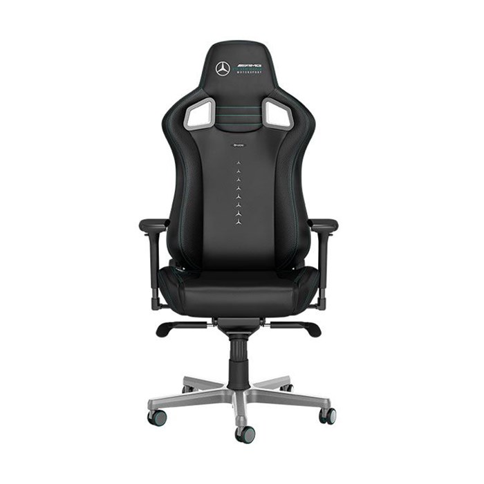 Noblechairs EPIC Series Faux Leather Gaming Chair - Mercedes-AMG Petronas Motorsport