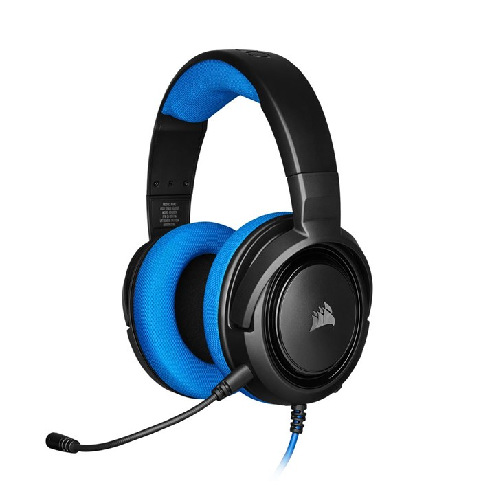 Corsair HS35 Gaming Headset - Blue