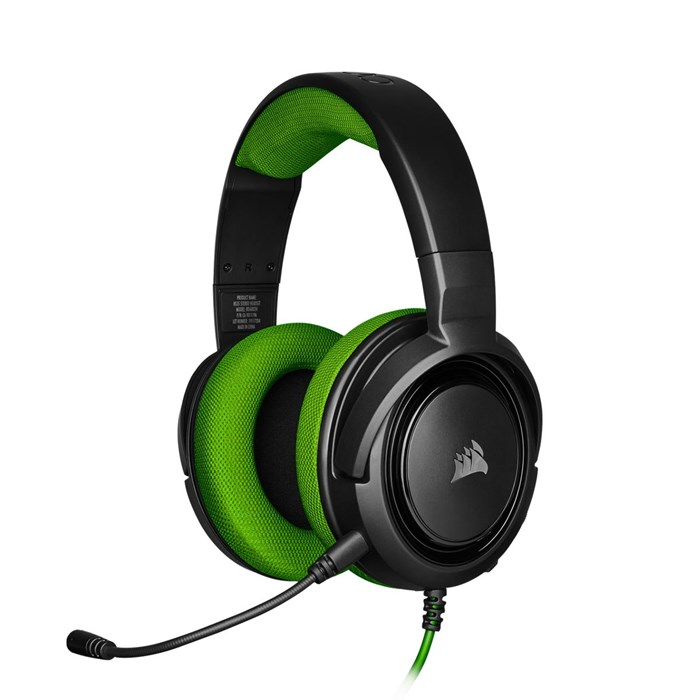 Corsair HS35 Gaming Headset - Green