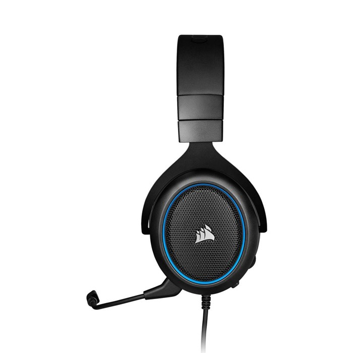 Corsair HS50 Pro Gaming Headset - Blue