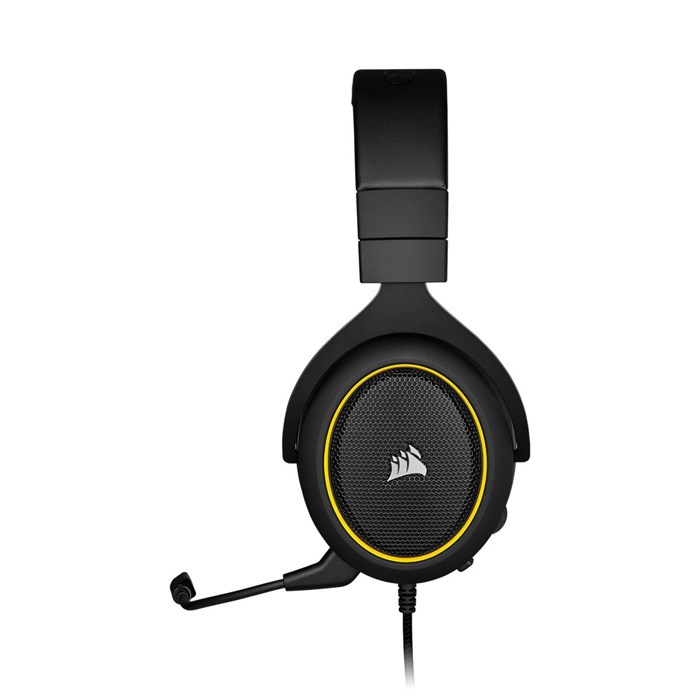 Corsair HS60 Pro Surround Sound Gaming Headset - Yellow