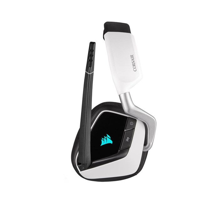 Corsair Void RGB Elite Wireless Surround Sound Gaming Headset - White