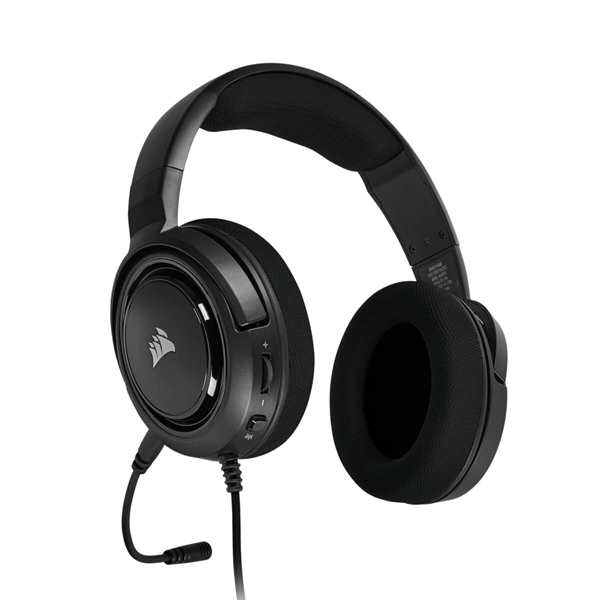 Corsair HS45 Surround Gaming Headset - Carbon  4