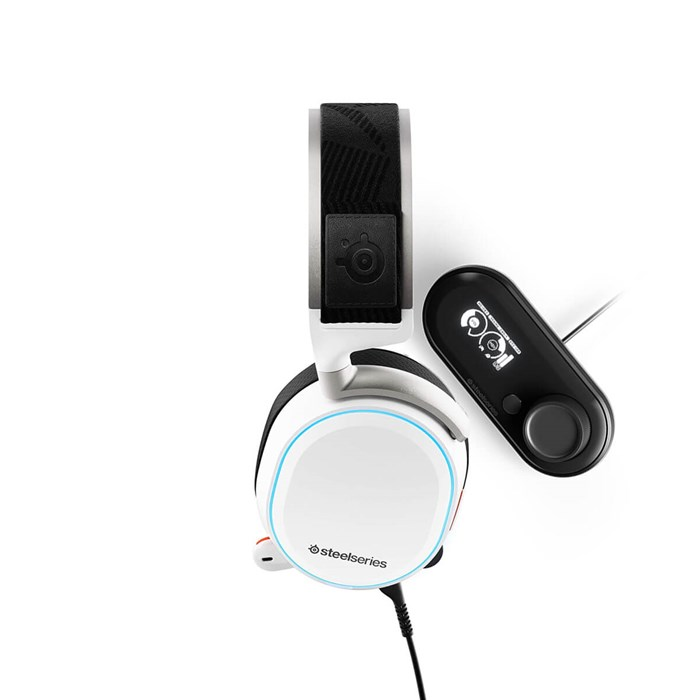 SteelSeries Arctis Pro High-Res Gaming Headset + Game DAC - White