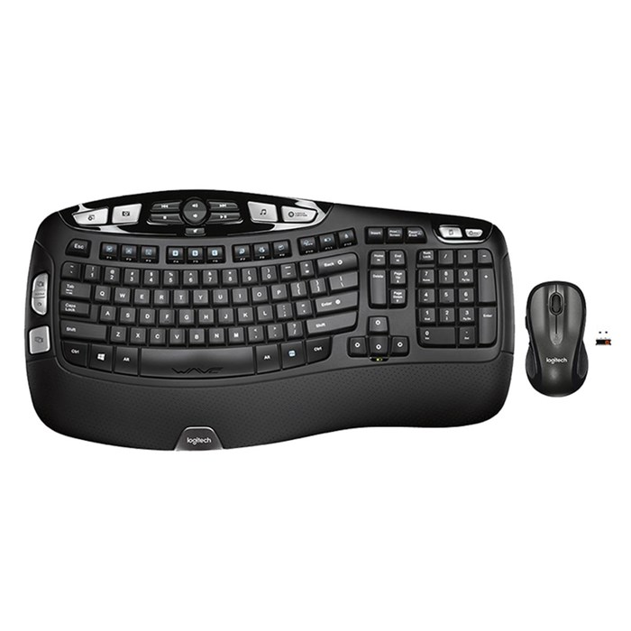 Logitech MK550 Wireless Wave Combo Keyboard and Mouse