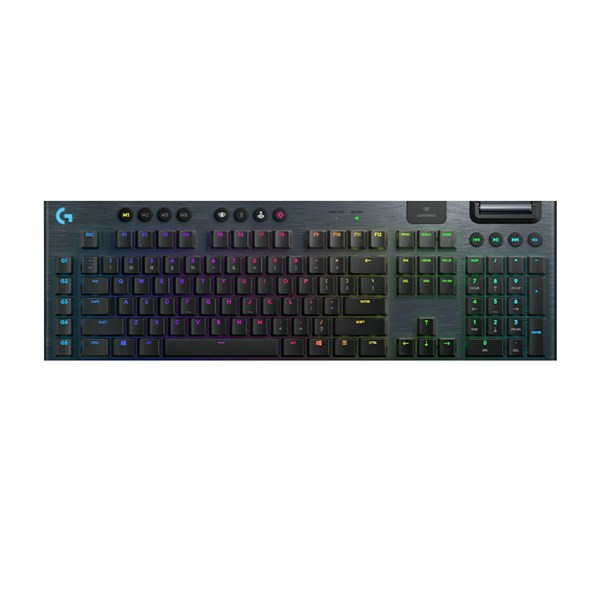Logitech G915 LIGHTSPEED Wireless RGB Mechanical Gaming Keyboard - Clicky