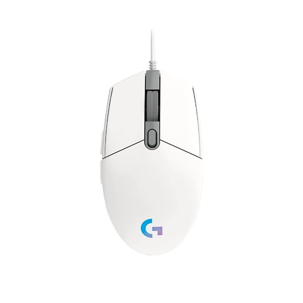 Logitech G203 LightSync RGB Gaming Mouse - White