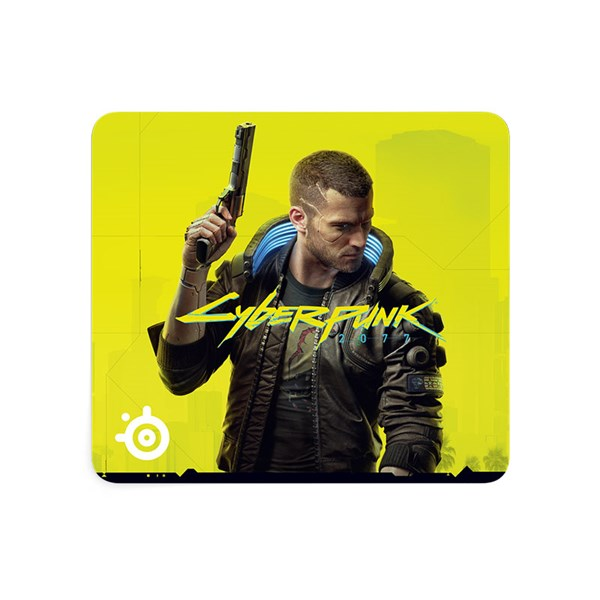 SteelSeries QCK - Large Cyberpunk 2077 Mouse Pad