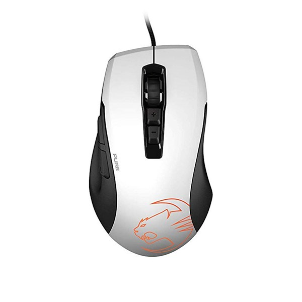 Roccat KONE PURE OWL-EYE Optical RGB Gaming Mouse - White - pr_279760