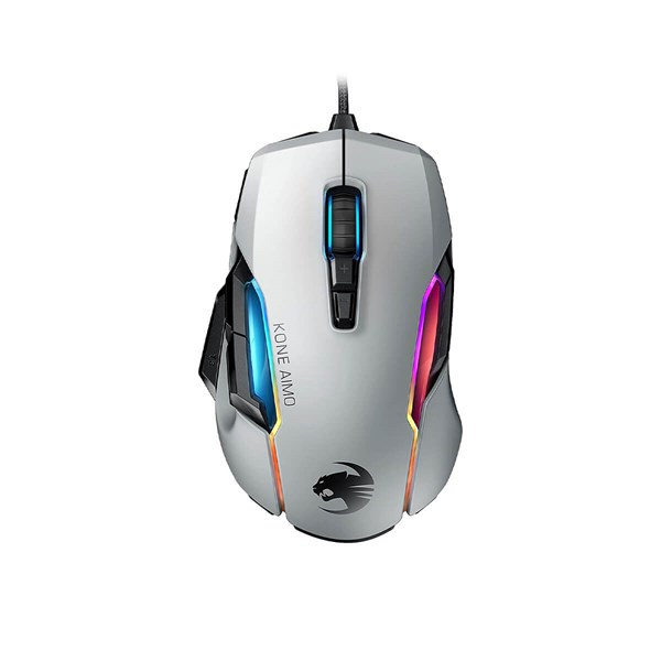 Roccat Kone AIMO Remastered Gaming Mouse - White