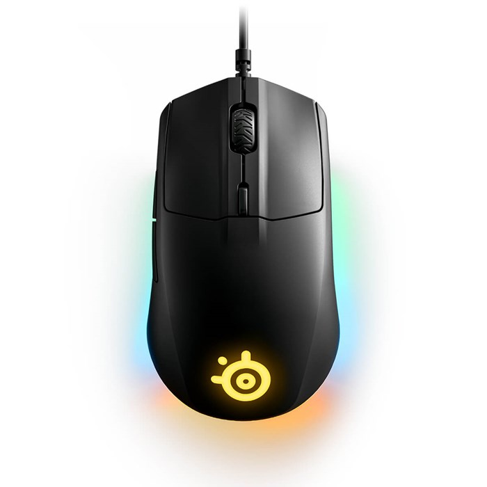 SteelSeries Rival 3 Gaming Mouse - Black