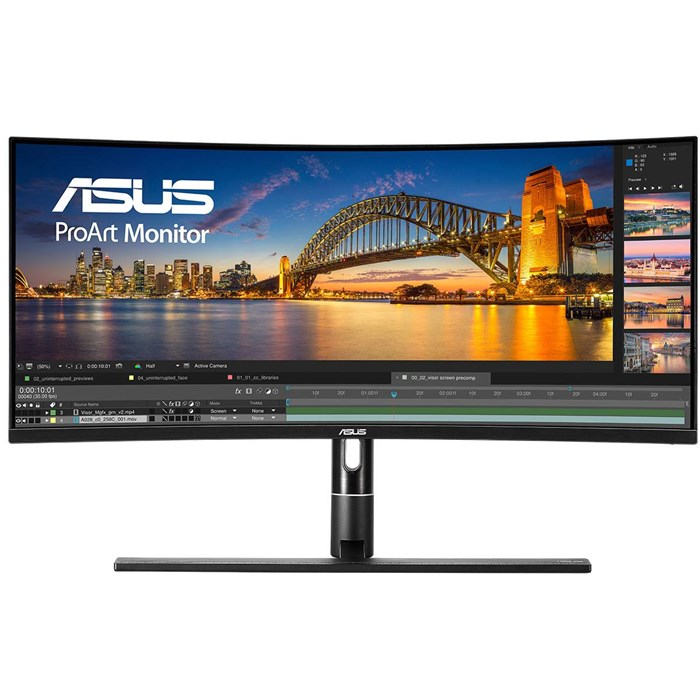 "ASUS ProArt PA34VC 34"" QHD HDR10 Thunderbolt 3 Professional Monitor"