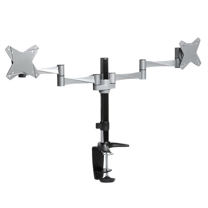 "Brateck Elegant Dual LCD Monitor up to 24"" Flexi Arm Table Stand"