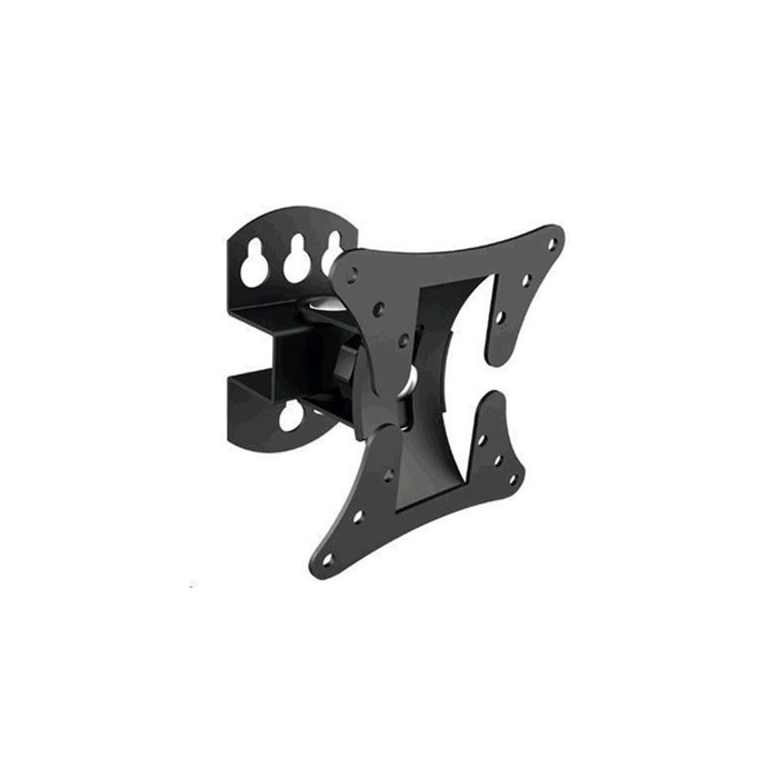 Brateck LCD-501 13'-27' Monitor Wall Mount. Pivot, Tilt, And Swivel