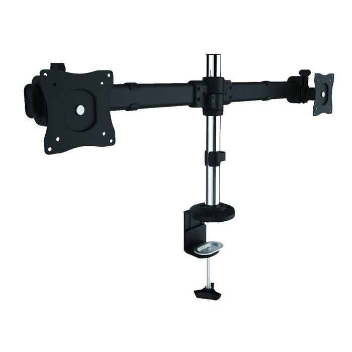 "Brateck LDT06-C02 Up to 27"" Micro-adjustment Multi-screen Desk Mount"