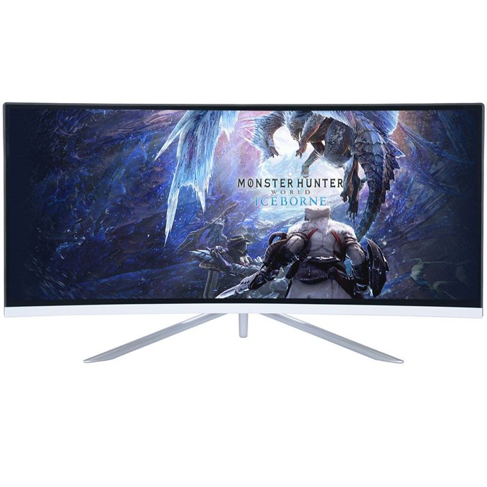 "Titan Army C34SW 34"" Curved QHD 100Hz FreeSync Gaming Monitor"
